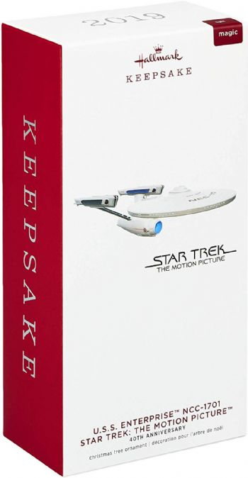 Star Trek The Motion Picture U.S.S. Enterprise Christmas Ornament By Hallmark